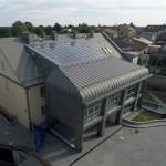 Dach przeciwpożarowy w Sławkowie