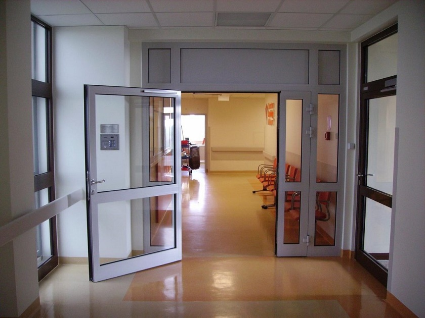 drzwi aluminiowe ogniowe