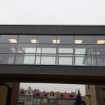 Przeszkolny łącznik pomiędzy budynkami