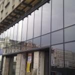 przeszklone wejście do budynku realizacja valnor bedzin