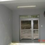 wejscie do budynku drzwi aluminiowe profilowe